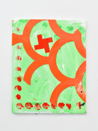 acrylic on ply panel, 12x16cm
