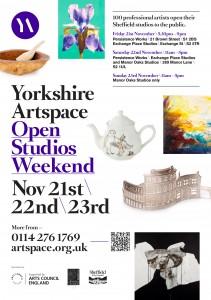 Yorkshire ArtSpace Open Studio