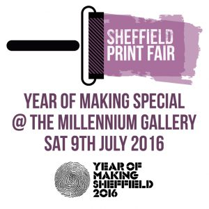 Year of Making Sheffield Print Fair